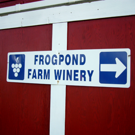 Frogpond Farm Winery