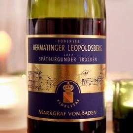 Markgraf von Baden - 2012er Bermatinger Leopoldsberg Spätburgunder trocken