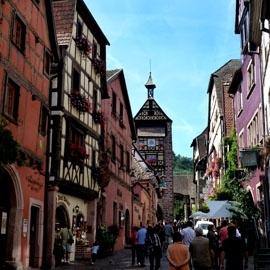 Frankreich - Riquewihr (Elsass)