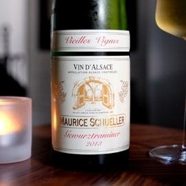 EARL Maurice Schueller - Gewürztraminer Vieilles Vignes 2013