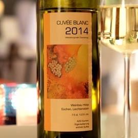 Weinbau Hoop (Liechtenstein) - Cuvée Blanc 2014